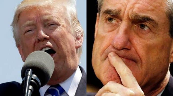 Donald Trump Vs. Special Prosecutor Robert Mueller.