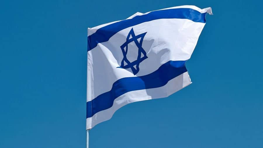 The Blue & White, the symbol of Jewish nationalism