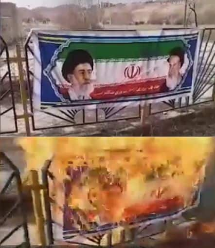 burning regime posters