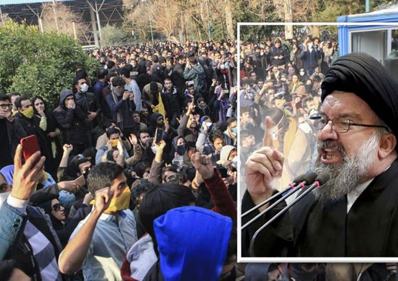 iran prayer leaders prove regime scared of resistance units