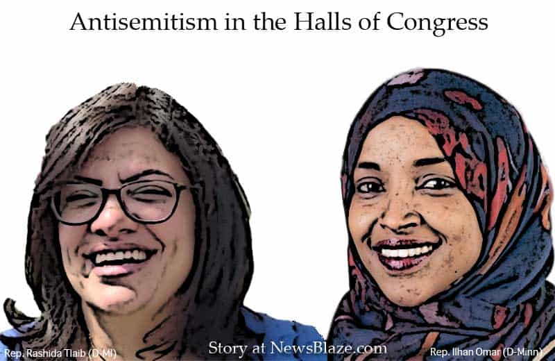 antisemitism in the halls of congress.