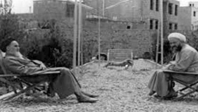 khomeini in Najaf, before the Islamic Republic.