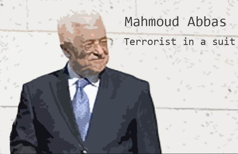 mahmoud abbas terrorist in a suit.