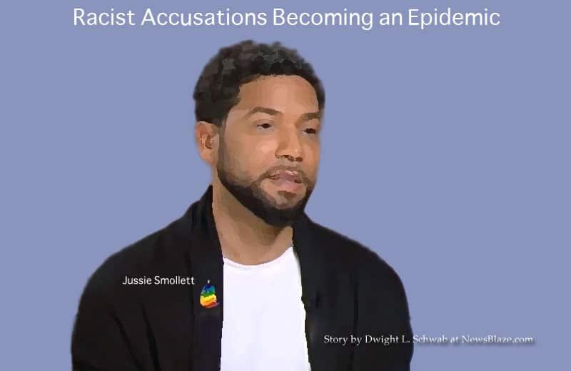 racist allegations by jussie smollett.