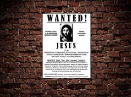 christ killers - wanted poster.