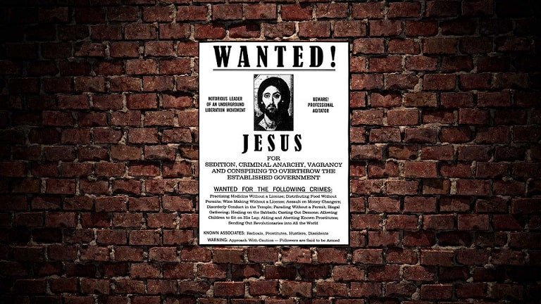 pro-abortion christ killers - wanted poster.