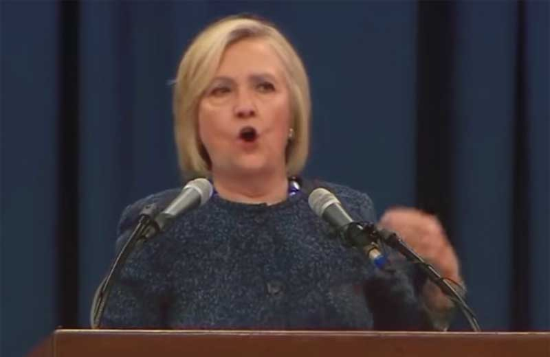 gloom and doom is hillary clinton full fledged crisis message