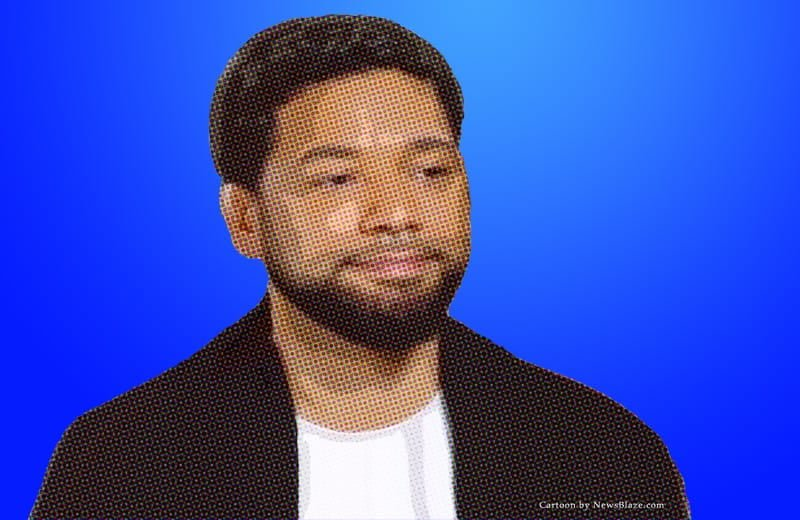 jussie smollett cartoon