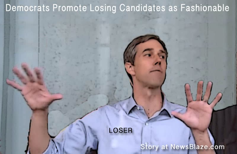 losing candidates for democrats - beto o'rourke one of several.