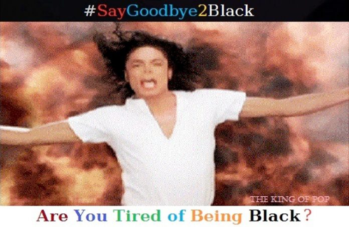 are you tired of being black?