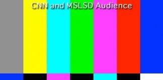 cnn and mslsd audience