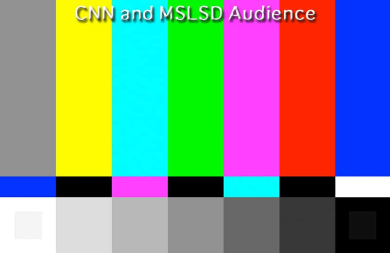 cnn and mslsd audience