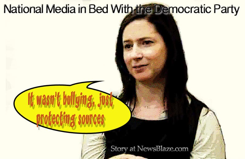 National Media in Bed With the Democratic Party - dafna linzer