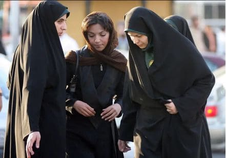 iranian women and FTO designation of IRGC.