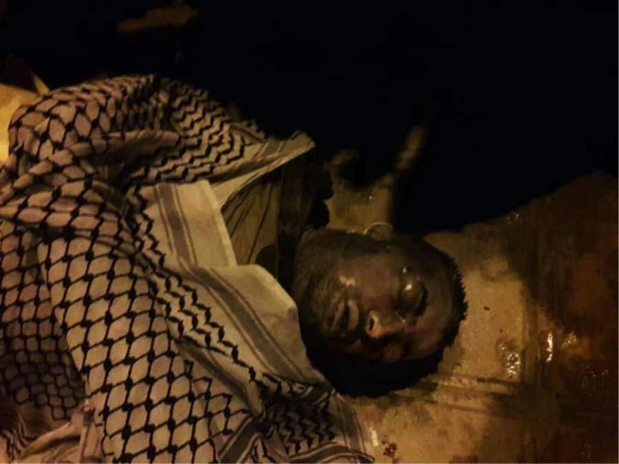 man shot by IRGC