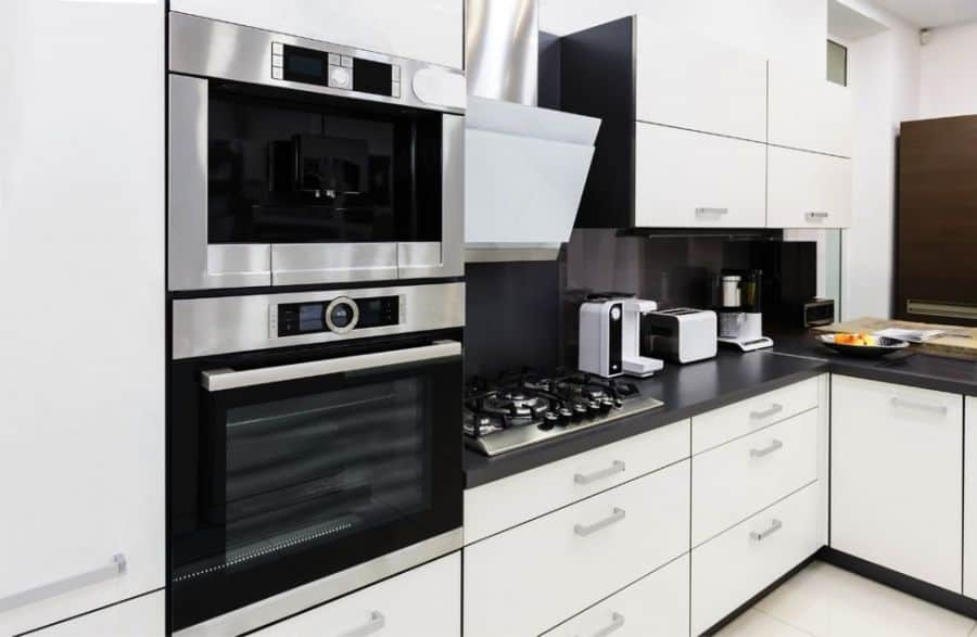 modern functional kitchen design.