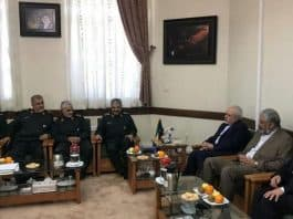 concerned about consequences of terrorist designation, zarif met jafari soleimani