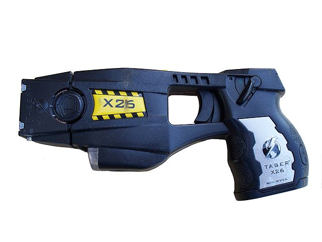 X26 Taser - No longer banned in Massachusetts.