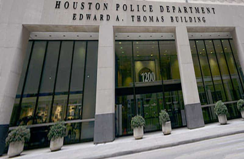 Houston Police Department Where Several People Were Questioned.