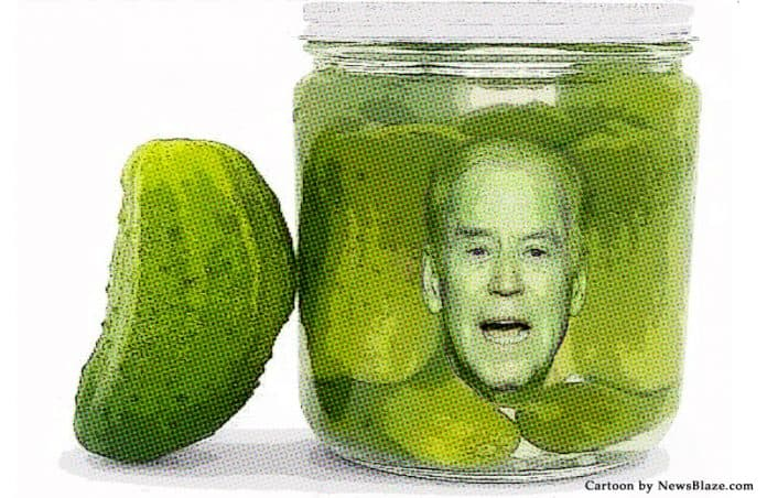 joe biden in a pickle