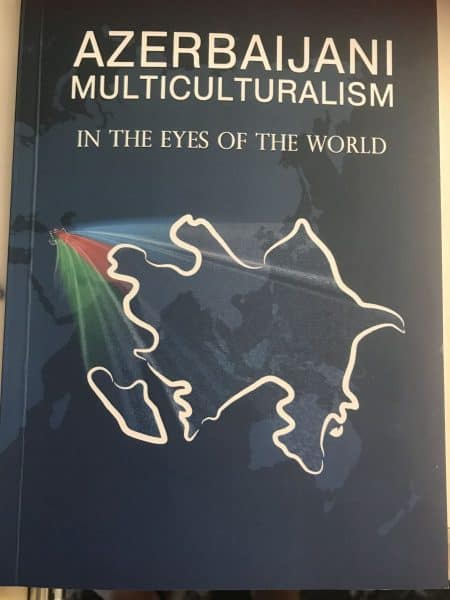 Azerbaijani Multiculturalism In the Eyes of the World booklet cover