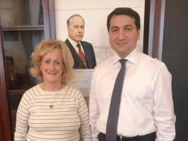 nurit with hikmat hajiyev.
