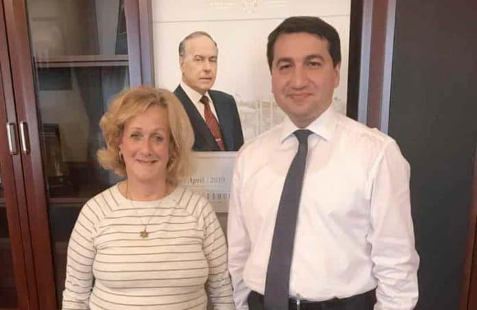 nurit with hikmat hajiyev.