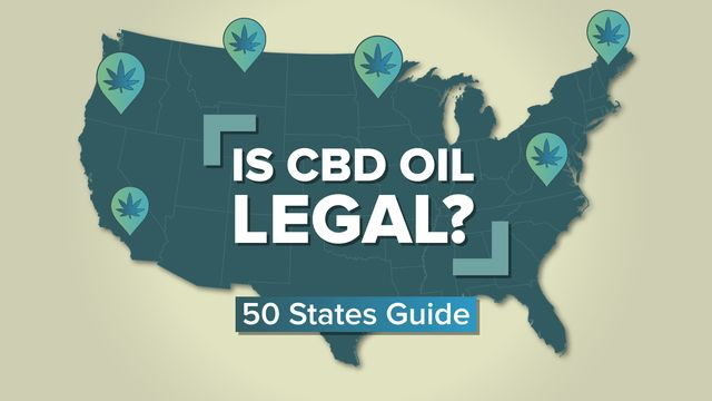 Is CBD Oil Legal In All The 50 US States? -Where to Find CBD Oil In 2019 1