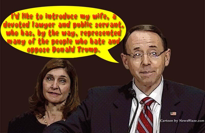 rod rosenstein and lisa barsoomian - part of government corruption or not?