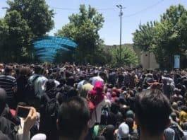 iran student protest