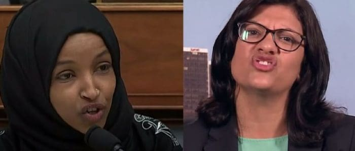dangerous era for jews, with Reps. Tlaib [R] and Omar