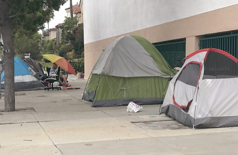 camping in los angeles