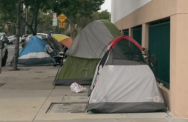 los angeles homeless accommodation