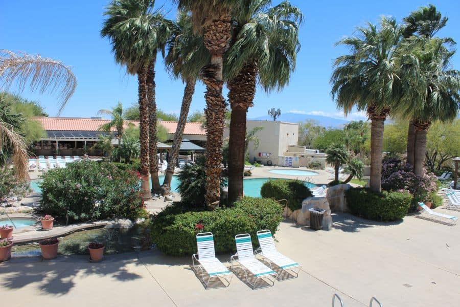 miracle springs resort and spa pool area