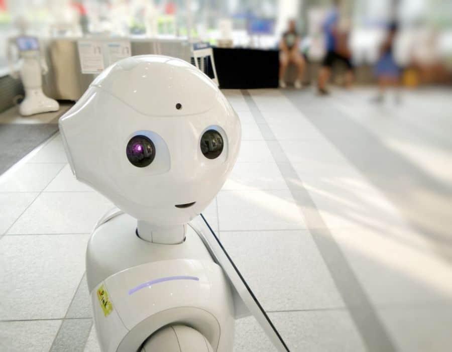 Robot. Image by Photos Hobby @photoshobby on Unsplash.