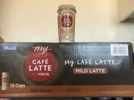 cafe latte box
