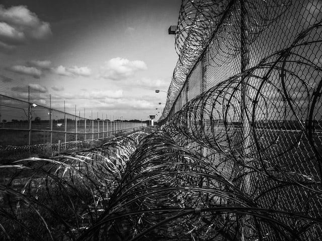 prison fence. Photo by Jody Davis from Pixabay