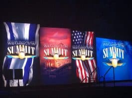 Summit banners