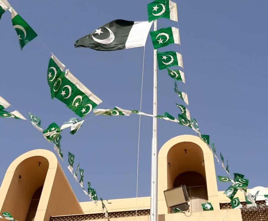 Kashmir flags