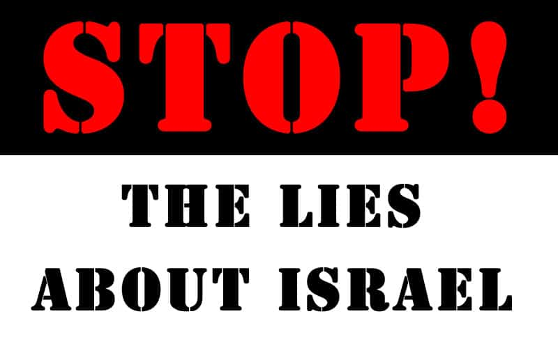 Stop the lies about Israel - NewsBlaze image