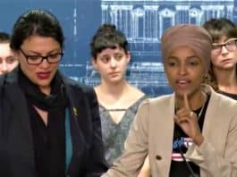 Rashida-Tlaib and Ilhan Omar speak bDLY ABOUT Israel after they were denied entry-Screenshot of 08-20-2019