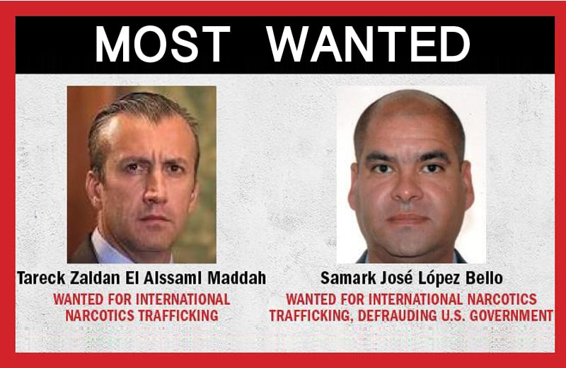 venezuelan traffickers added to most wanted list