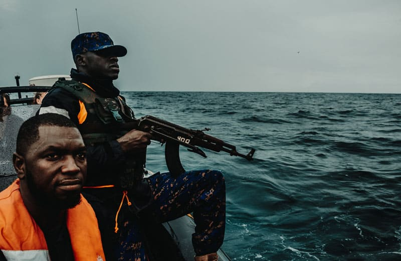 Sea Shepherd Patrols Waters Off The Gambia - Two Fishing Trawlers Arrested 21