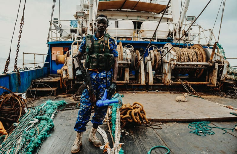 Sea Shepherd Patrols Waters Off The Gambia - Two Fishing Trawlers Arrested 20