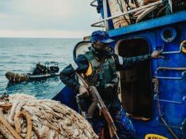gambia navy board fishing vessel