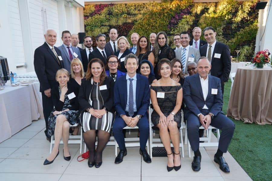 Israel Discount Bank Offers Los Angeles The Best Annual Al Fresco Networking 1
