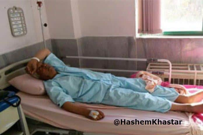 hashem khastar in hospital, fight for justice