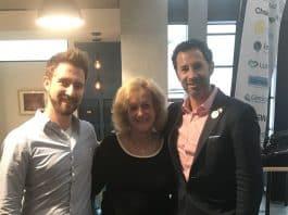 Left-Seth H. Davis Executive Director USA, ME and Voni Glick Co-Chief CEO Tel Aviv Headquarters