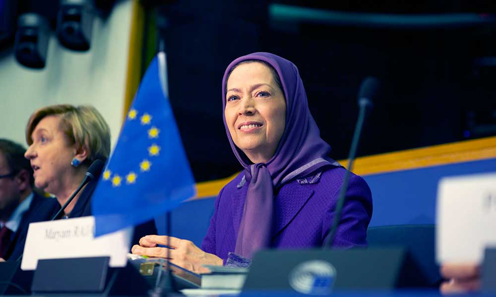 maryam rajavi presents book of names of victims of massacre