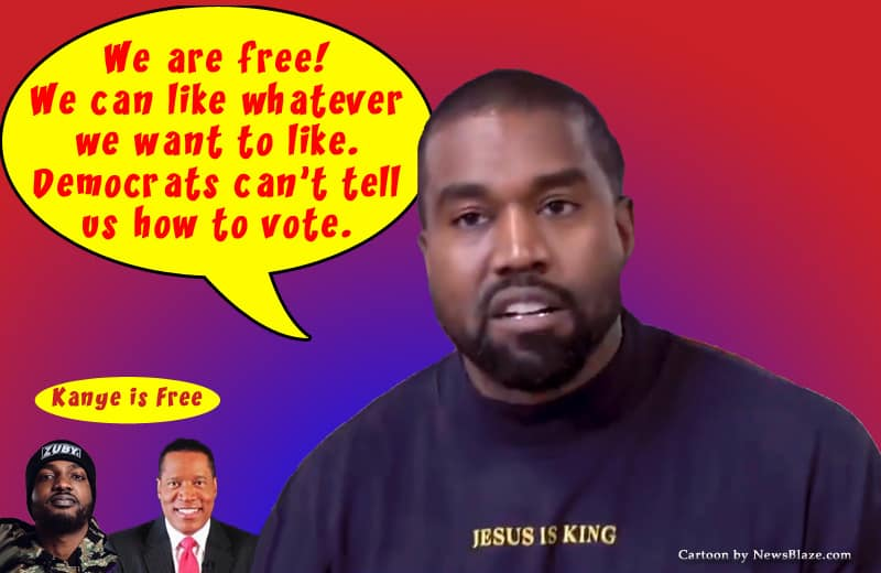 Kanye West - democrats can't tell me how to vote